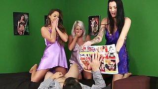 Mean Cfnm Teens Seducing Dick Until Cumshot