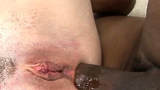 big black dick in white ass with Trinity Post