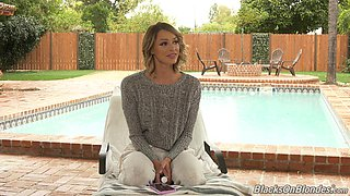 Emma Hix exciting interview for Dog Fart Network and that babe loves her job