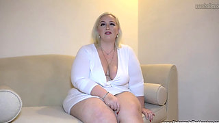 Busty BBW Blonde MILF Zoey Fucked Hard by a Massive Blackk Dick