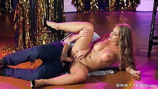 Alessandra Jane is a gorgeous blonde interested in a massive dong