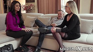 Trio With A Couple - MariskaX