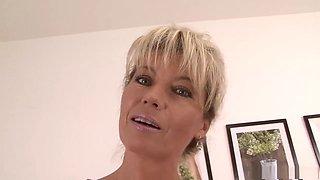 Best pornstar in horny blonde, hairy xxx scene