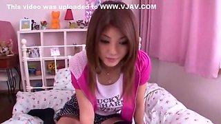 Incredible Japanese model Azumi Harusaki in Hottest Stockings, Handjobs JAV scene