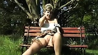 Sara . More Shaved pussy Flashing