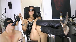 Horny Homemade record with Femdom, Fetish scenes