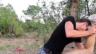 Handcuffed Teen Ravished