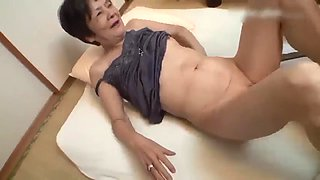 Japanese abused granny 1