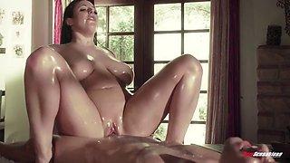 Angela white massage