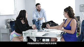 Cute Naughty Teen Sofie Reyez Lets Stepbrother Use Her Holes