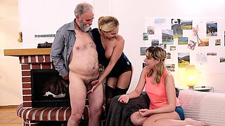 KINKY INLAWS - Sexy Russian teen gets fucked by stepfather