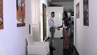 XXXShades - Passionate and erotic fuck with Romanian redhead