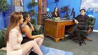 Horny pornstars Jasmine Black and Sensual Jane in exotic brazilian, dildos/toys porn clip