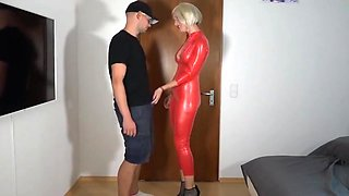 Perfect anal latex Dream