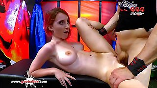 Kinky Innocent looking Lia Louise is a Sex Maniac -GGG