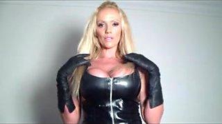 Lucy Zara - Latex Masturbation Blond Large Wobblers