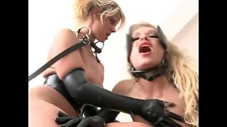 Kinky German Mistress Humiliating Two Whores