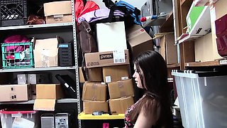 Shoplyfter- A Hard Fuck Punishment For Rebelious Teen
