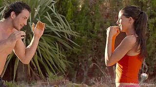Longhair Alexa: workout & Fuck