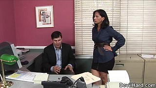 Melissa Monet in Office Seductions #02, Scene #04 - SweetSinner