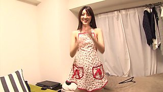 Hottest Japanese girl Kanako Iioka in Crazy college, blowjob JAV movie