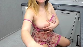 Sexy blonde with beautiful tits royalboobs