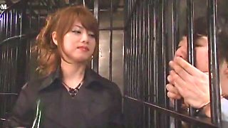 Crazy Japanese whore Akiho Yoshizawa in Amazing Fetish, Close-up JAV movie