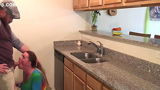Anal Surprise For Pregnant Milf In Kitchen Step Mother And Son Taboo - Bunnieandthedude