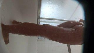 *** caught with hidden cam in shower