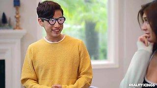 X-ray Glasses make Caught Teen Wank 24-7