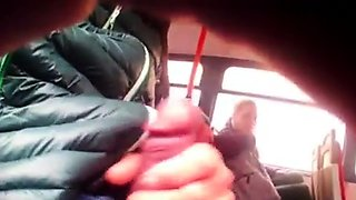 Two girls watch bus flasher
