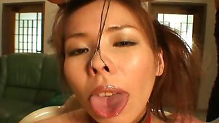 Fun with Metal Nose Hooks , Mistress Fuki places a metal
