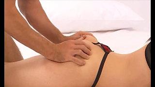 Cutting sex inside vagina plus music